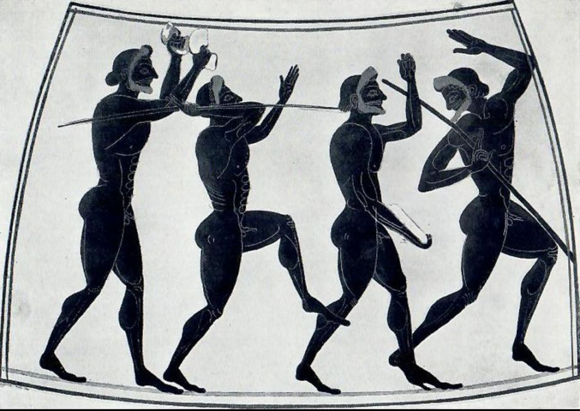 Ancient Greek Javelin Throwers